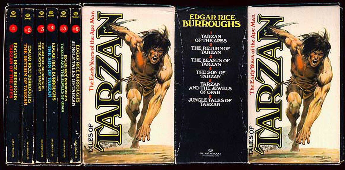 Neal Adams Tarzan Box Set