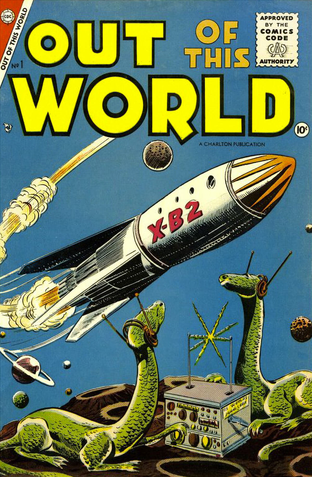 Charlton Comics Out Of This World 1