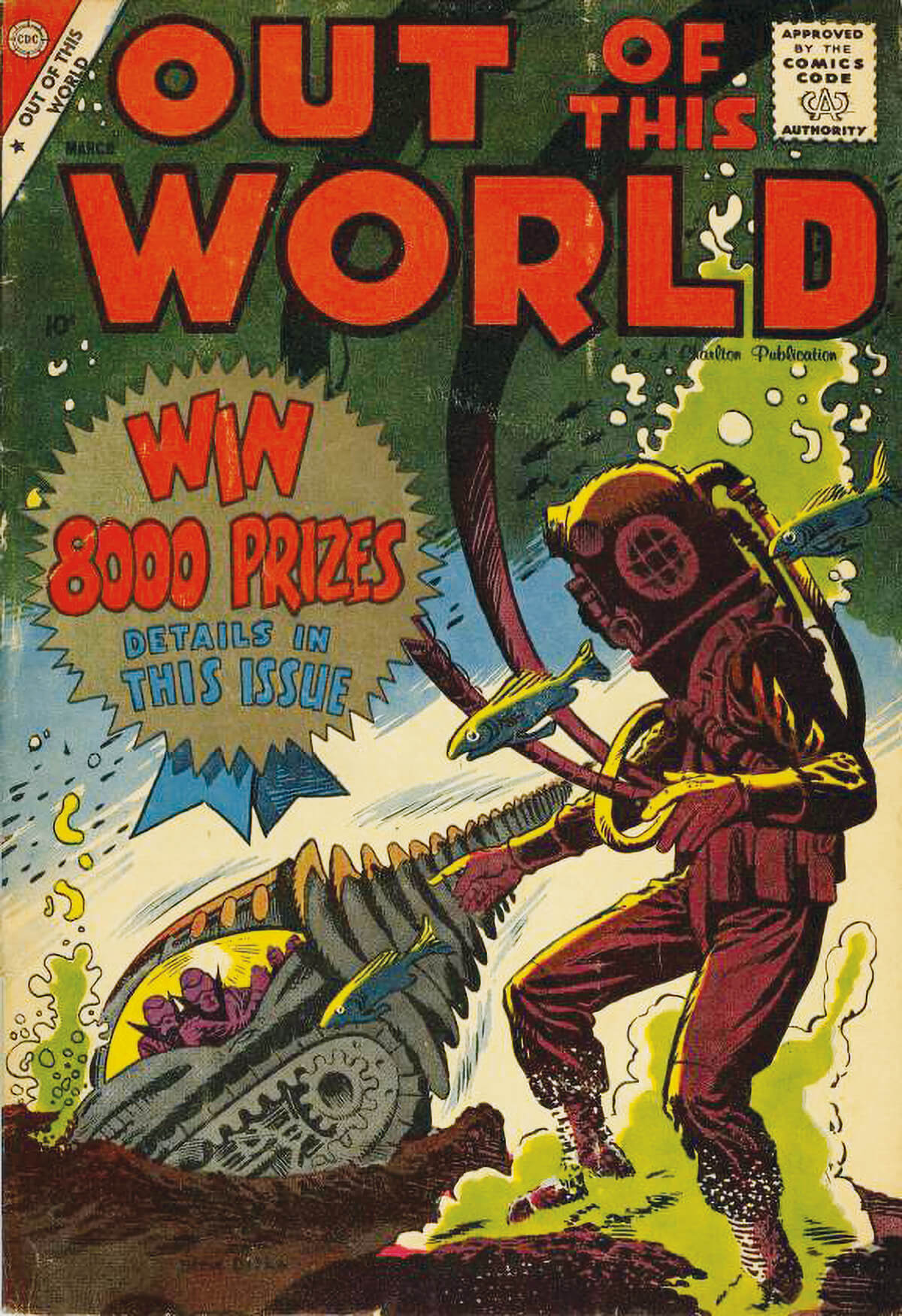 Charlton Comics Out Of This World 12