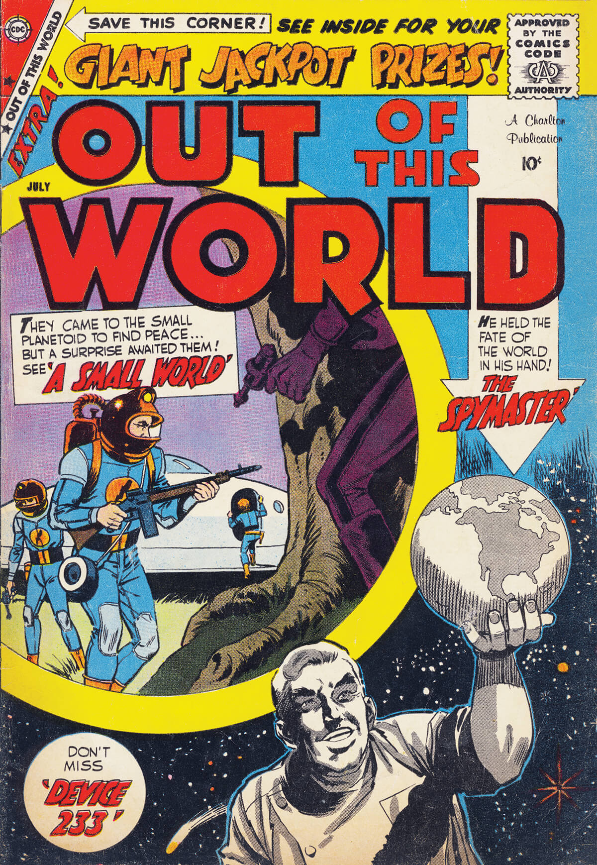 Charlton Comics Out Of This World 14