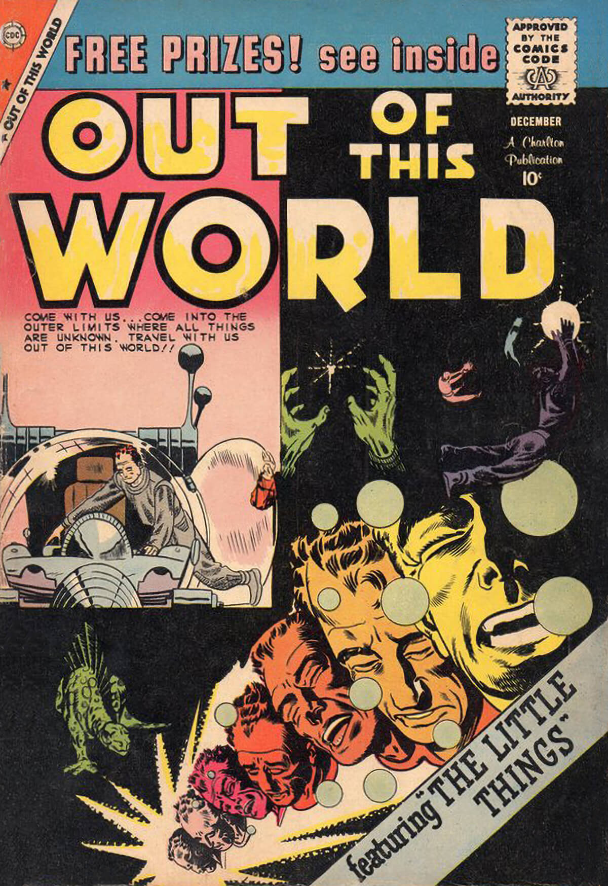 Charlton Comics Out Of This World 16
