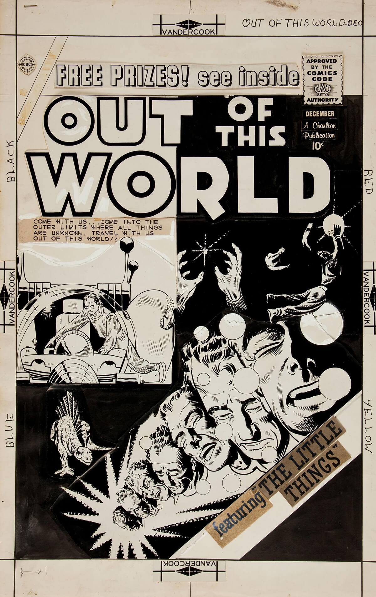 Out Of This World 16 Cover by Steve Ditko