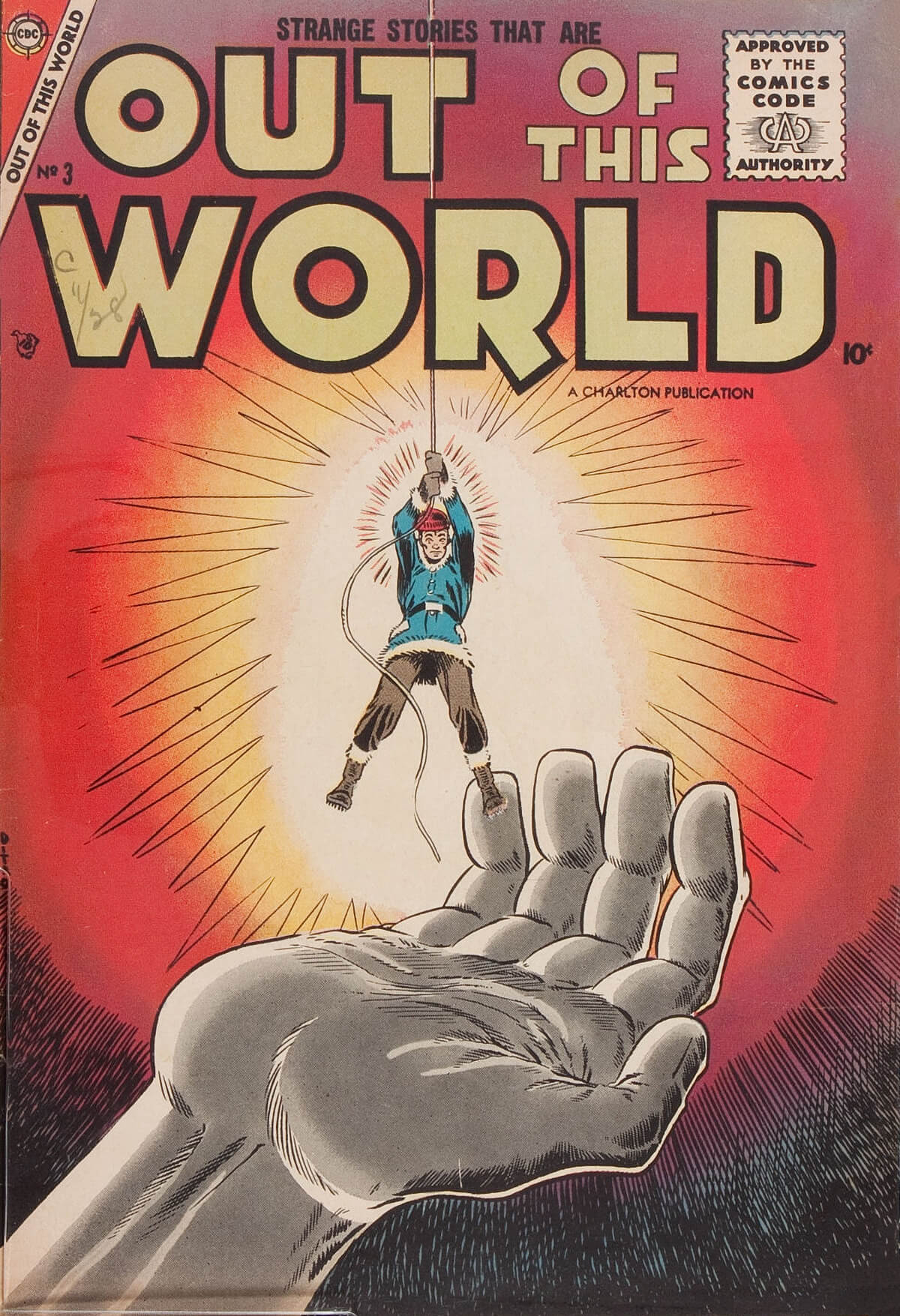 Charlton Comics Out Of This World 3