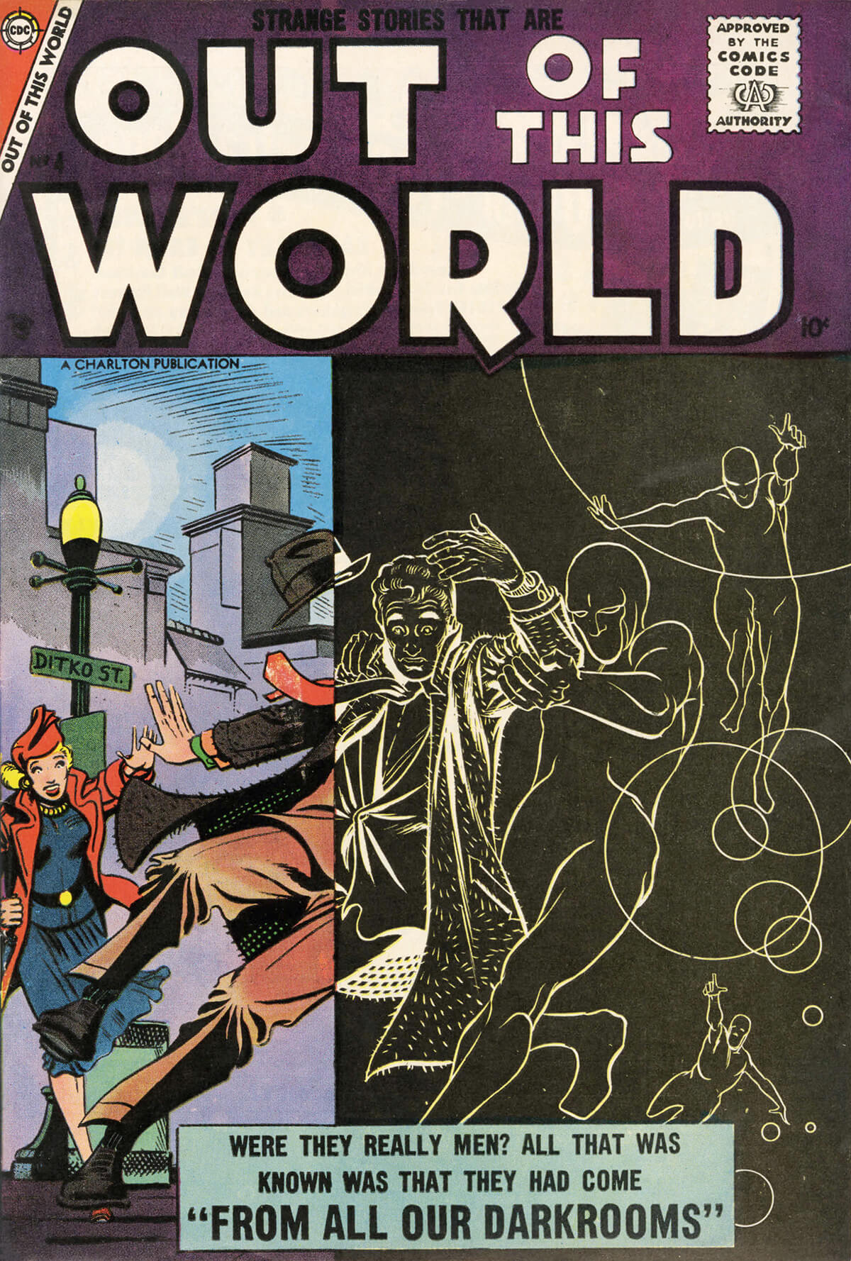Charlton Comics Out Of This World 4
