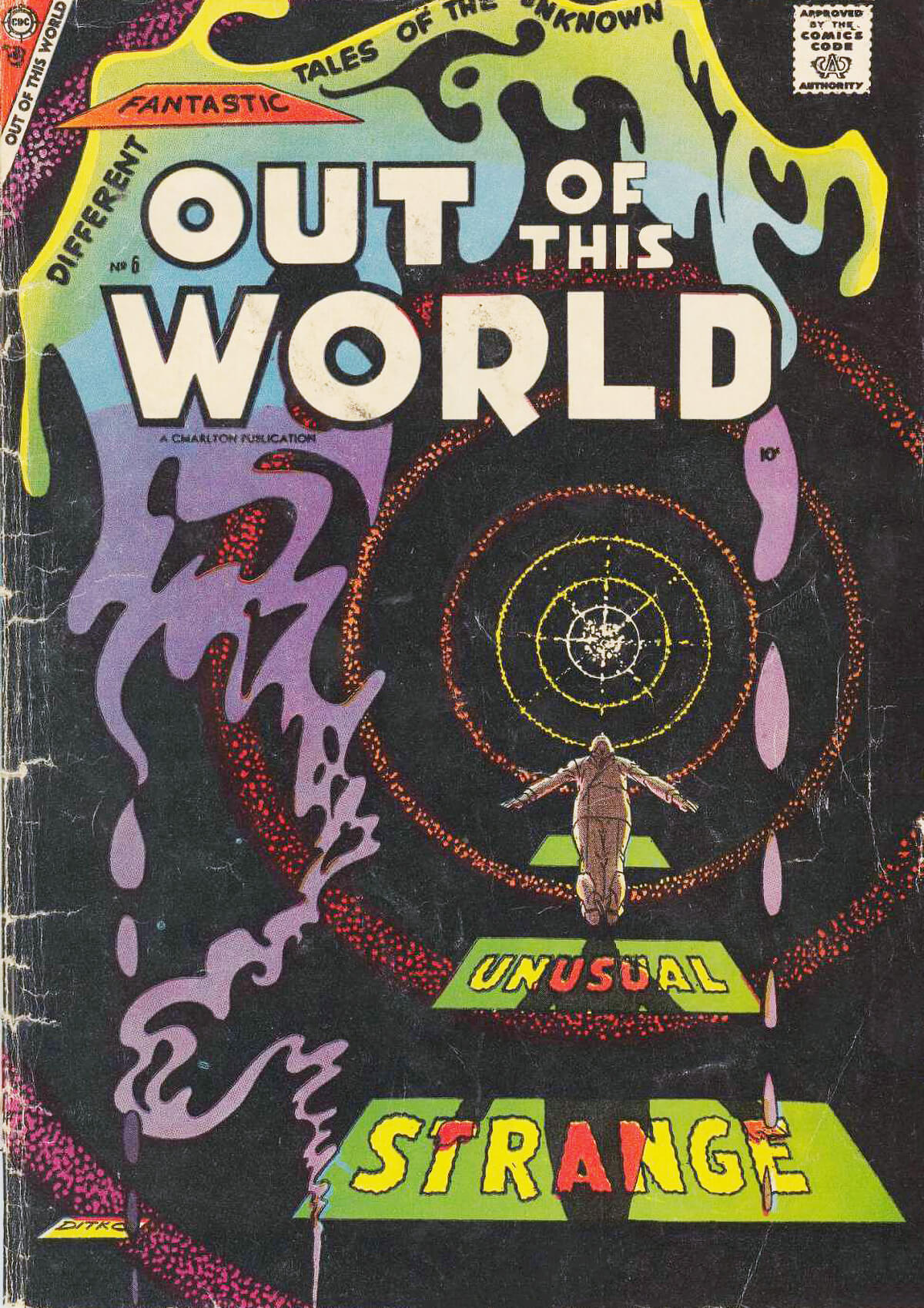Charlton Comics Out Of This World 6