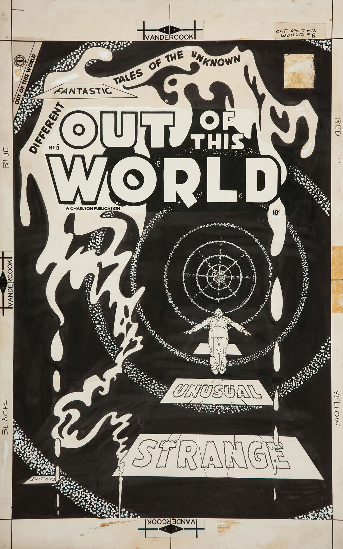 Out Of This World 6 by Steve Ditko