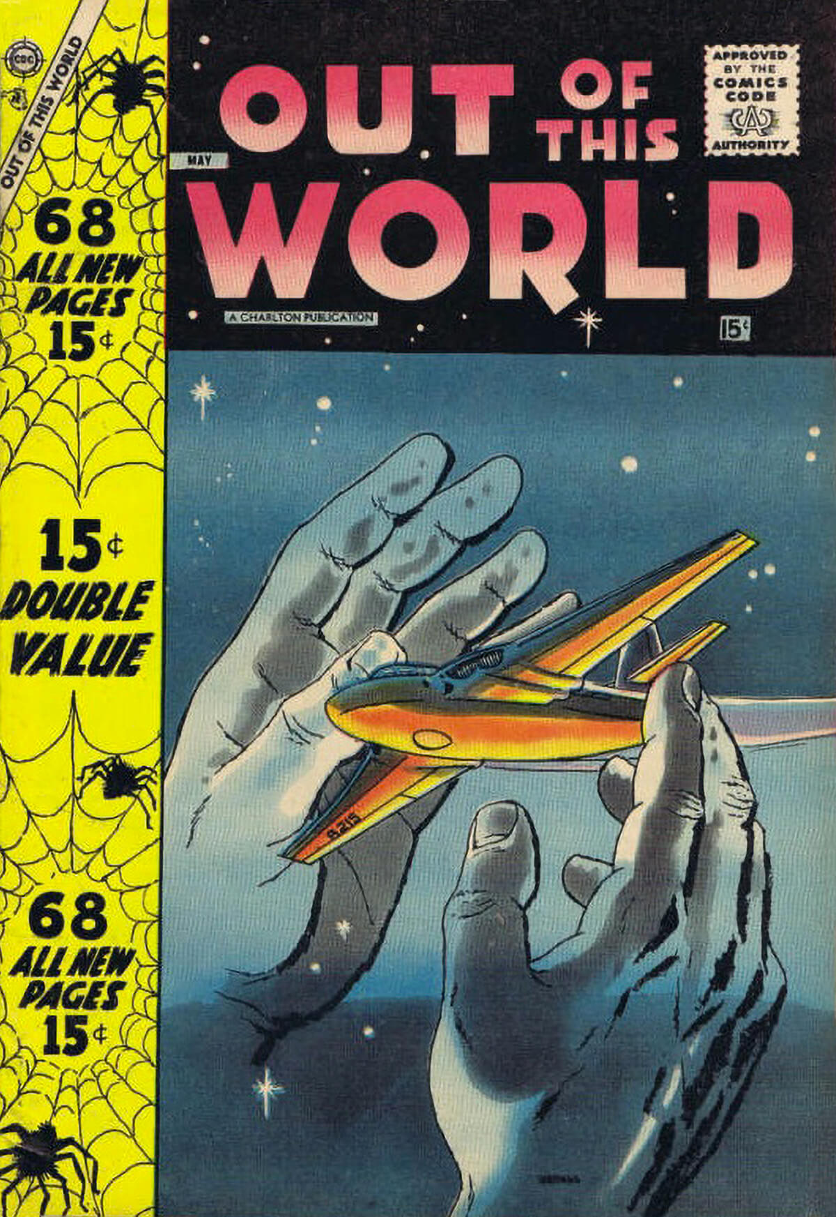 Charlton Comics Out Of This World 8