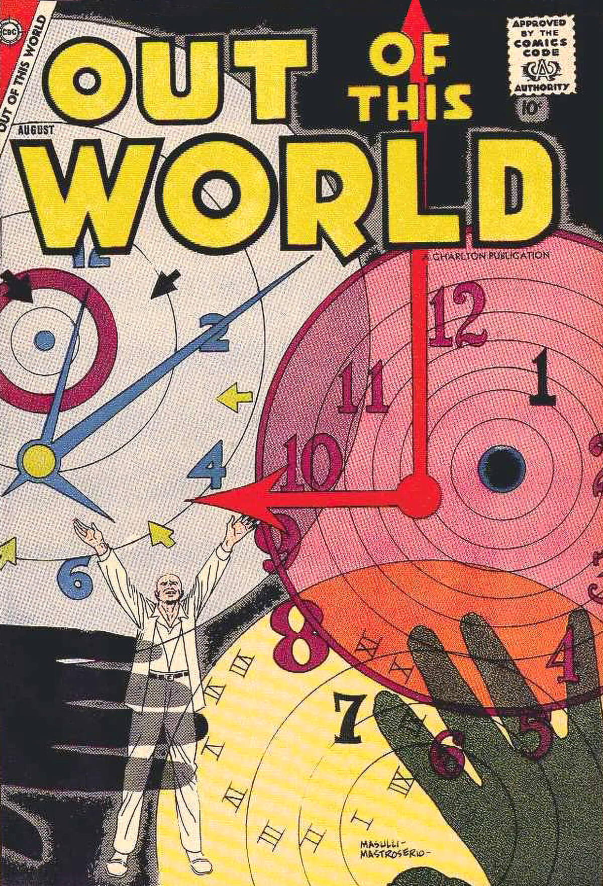 Charlton Comics Out Of This World 9