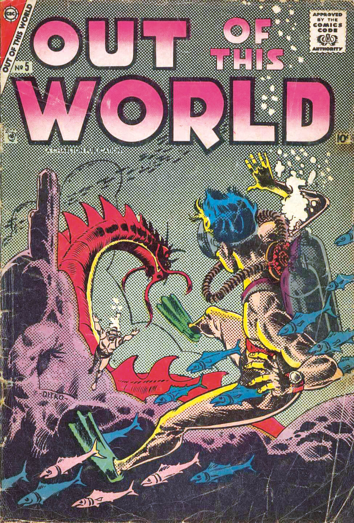 Charlton Comics Out Of This World 5