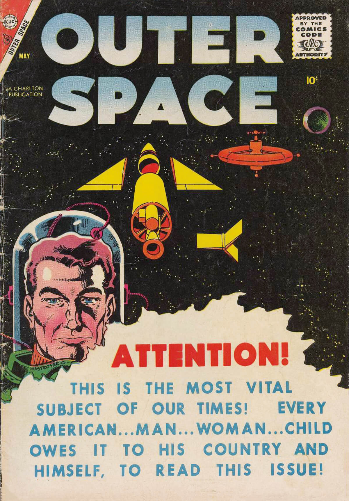 Charlton Comics Outer Space 17