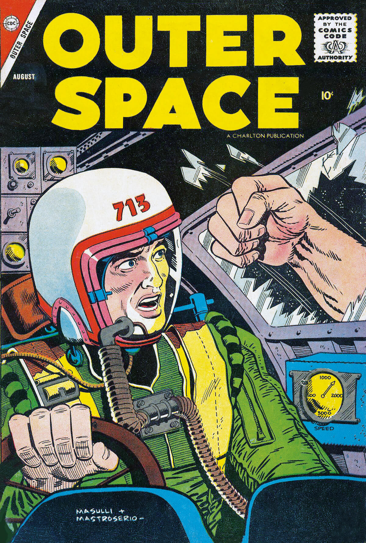 Charlton Comics Outer Space 18 Cover