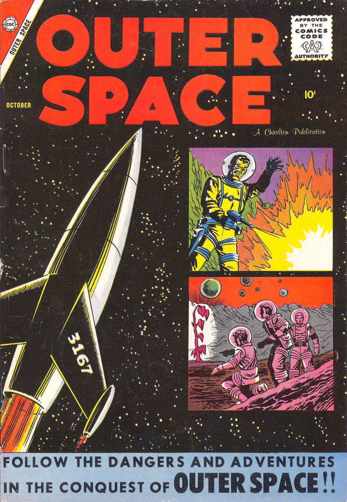Charlton Comics Outer Space 19