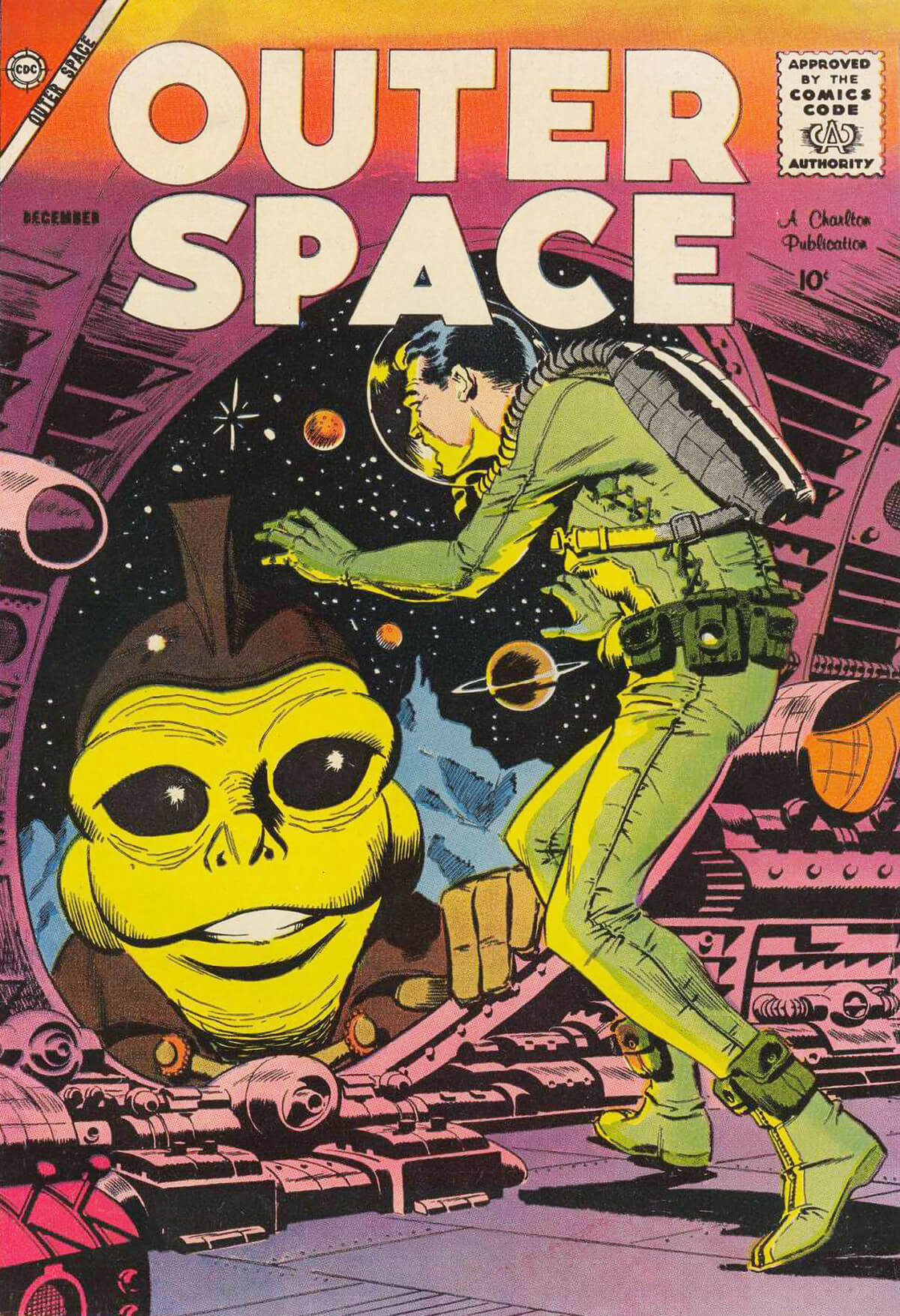 Charlton Comics Outer Space 20