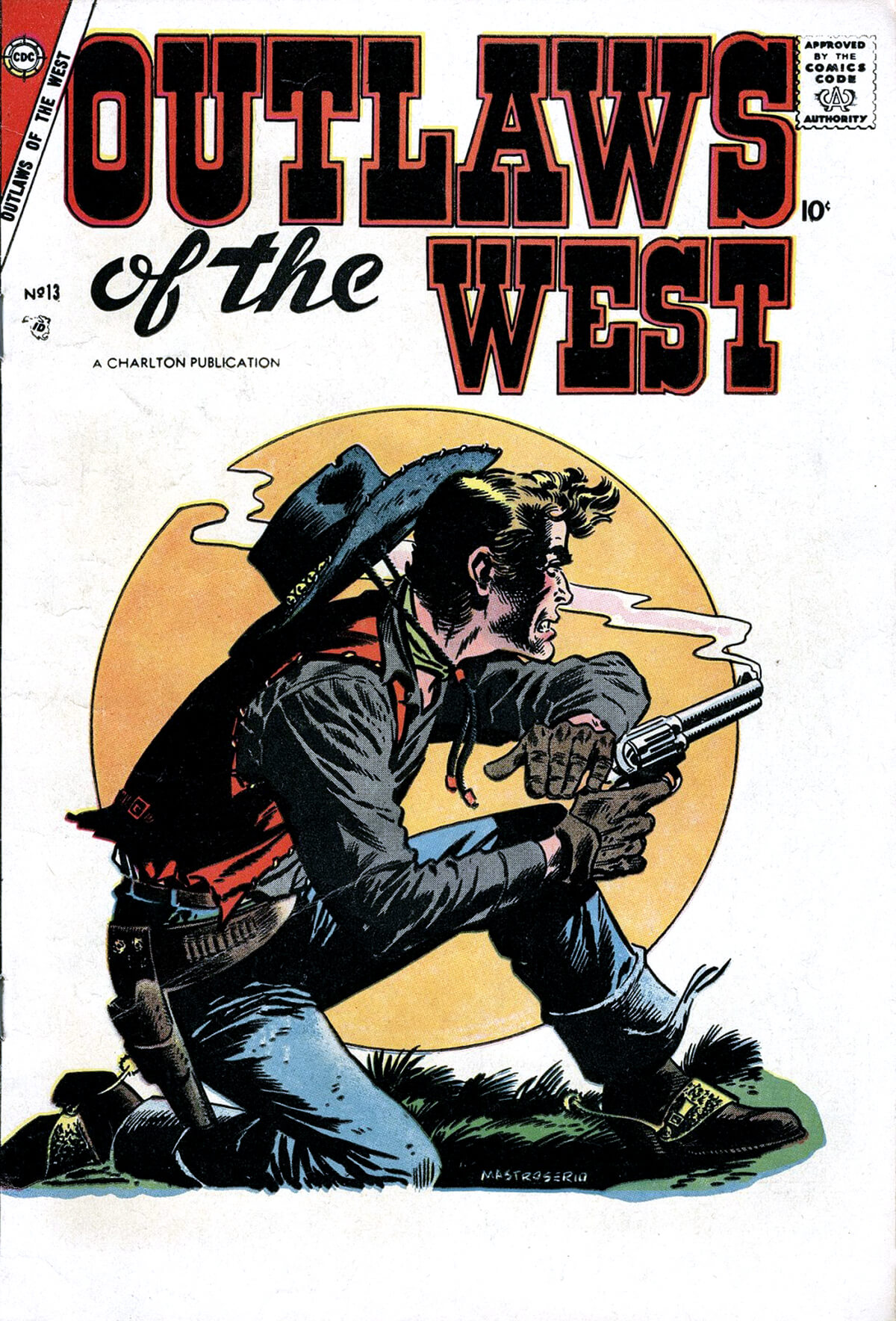 Charlton Comics Outlaws Of The West 13