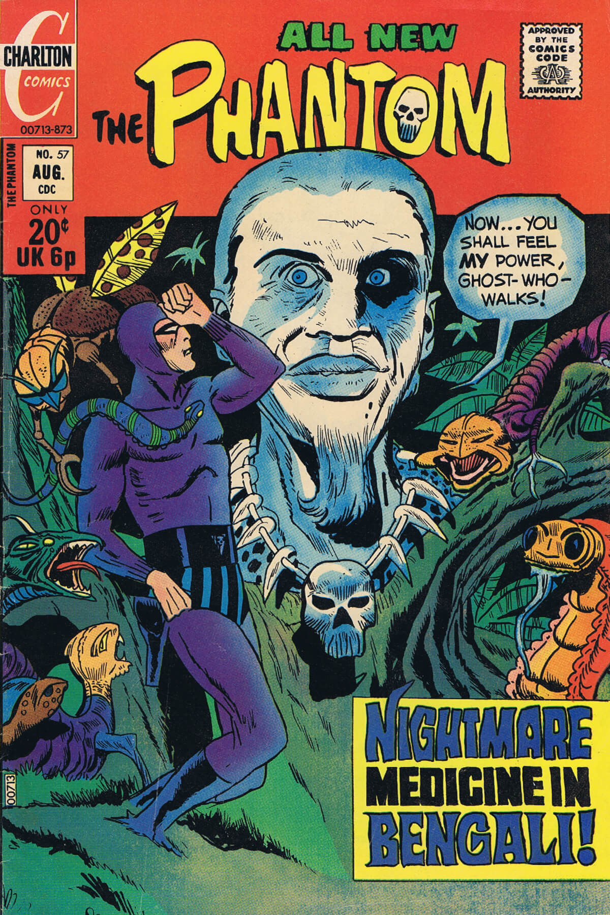 Charlton Comics Phantom 57 Cover
