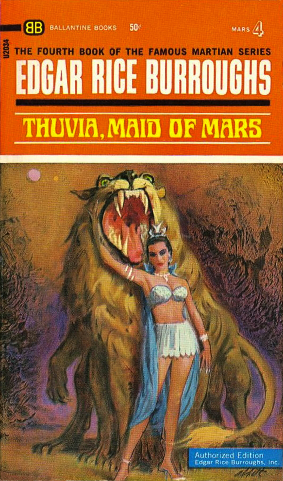 Robert K Abbett Jcom 4a Thuvia Maid Of Mars