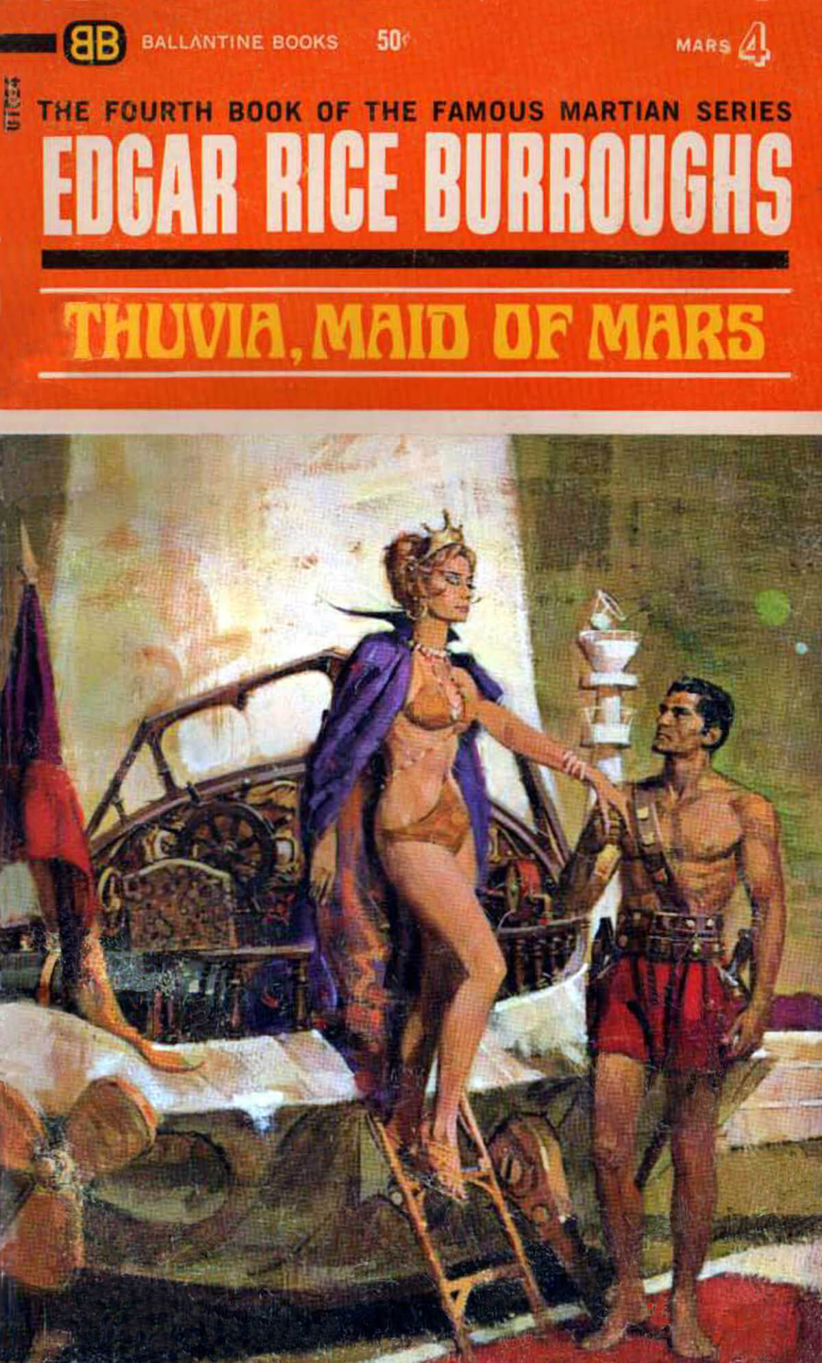 Robert K Abbett Jcom 4b Thuvia Maid Of Mars