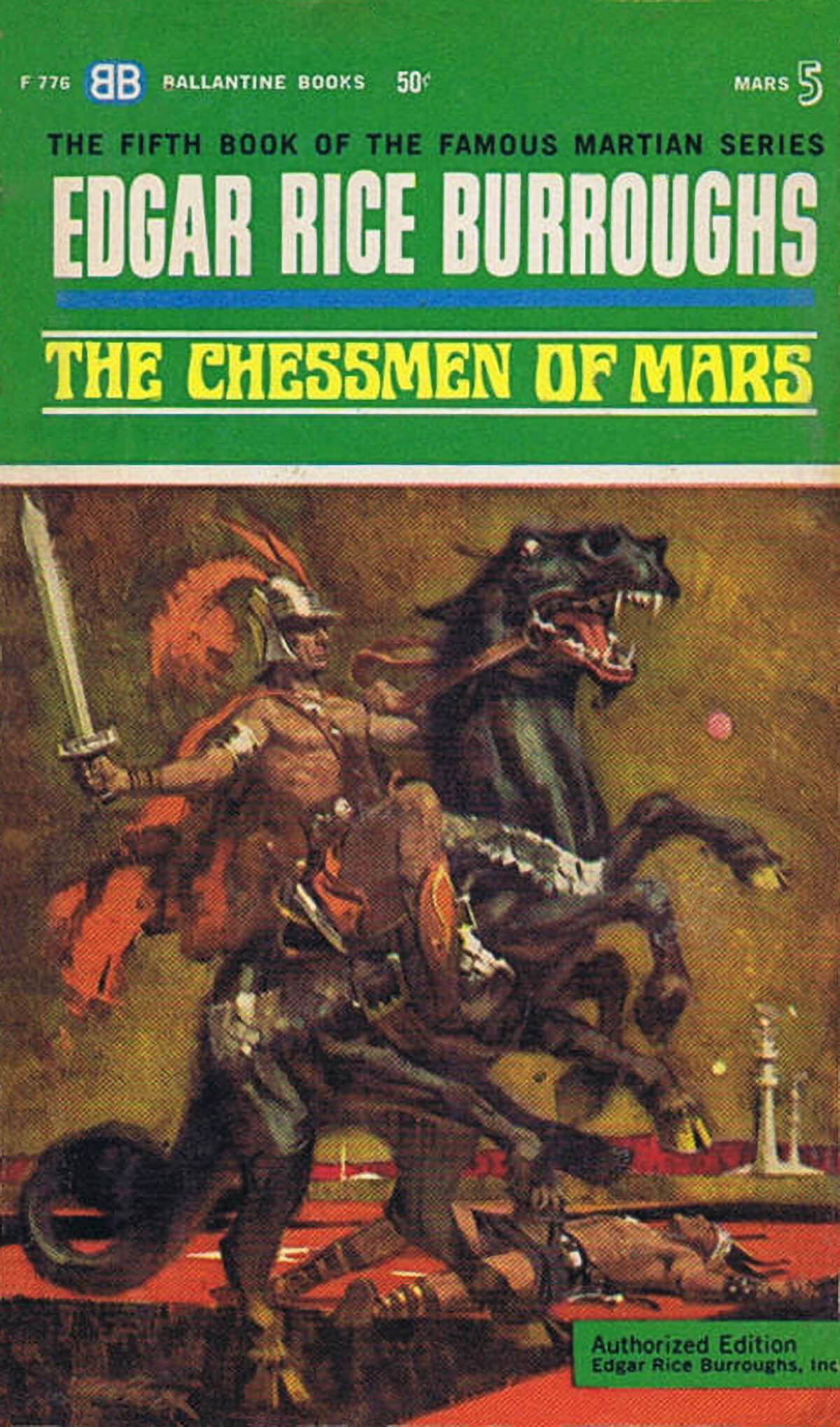 Robert K Abbett Jcom 5 The Chessmen Of Mars
