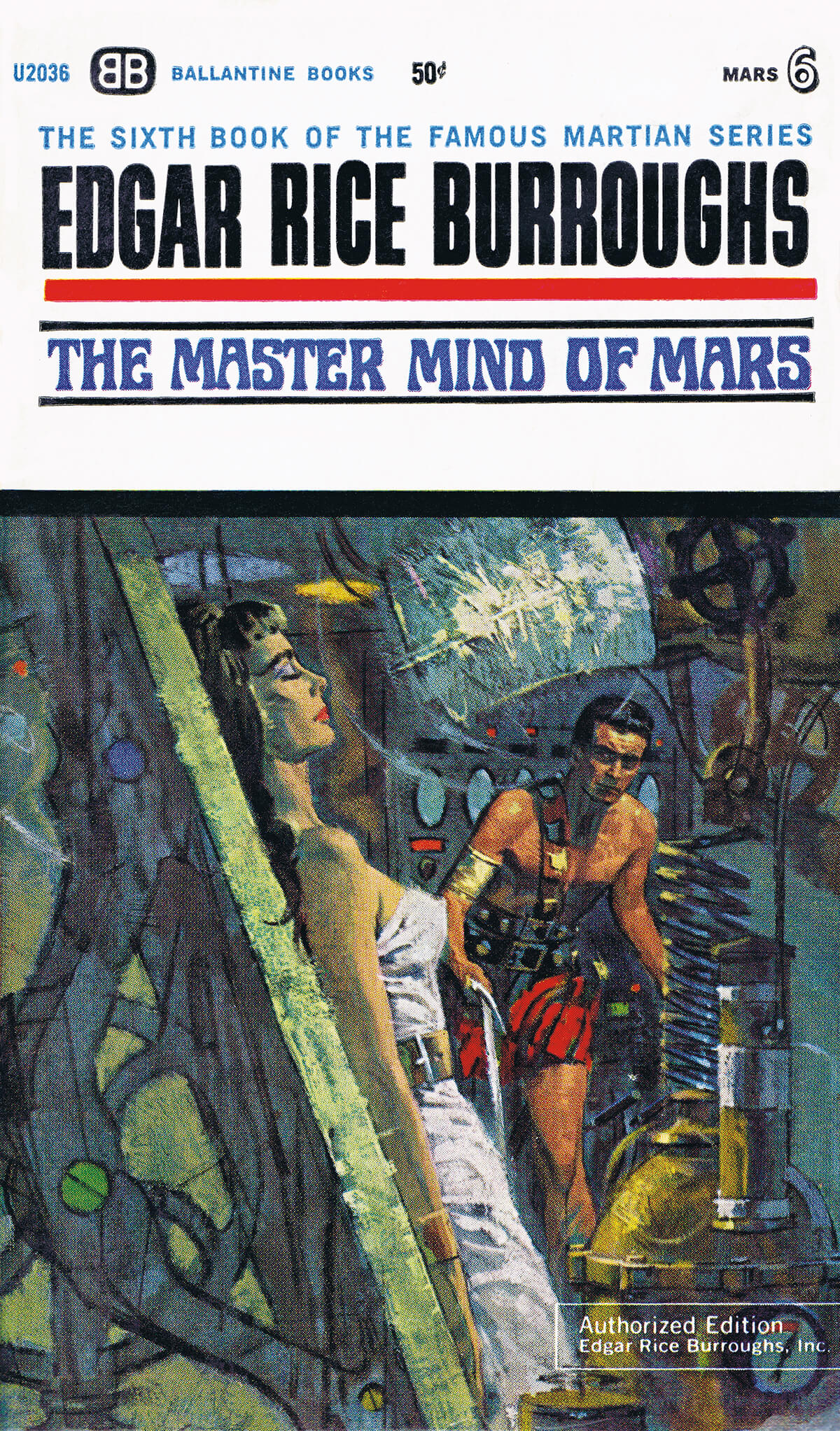 Robert K Abbett Jcom 6 The Master Mind Of Mars