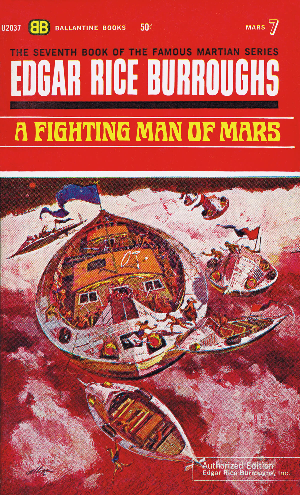 Robert K Abbett Jcom 7 A Fighting Man Of Mars