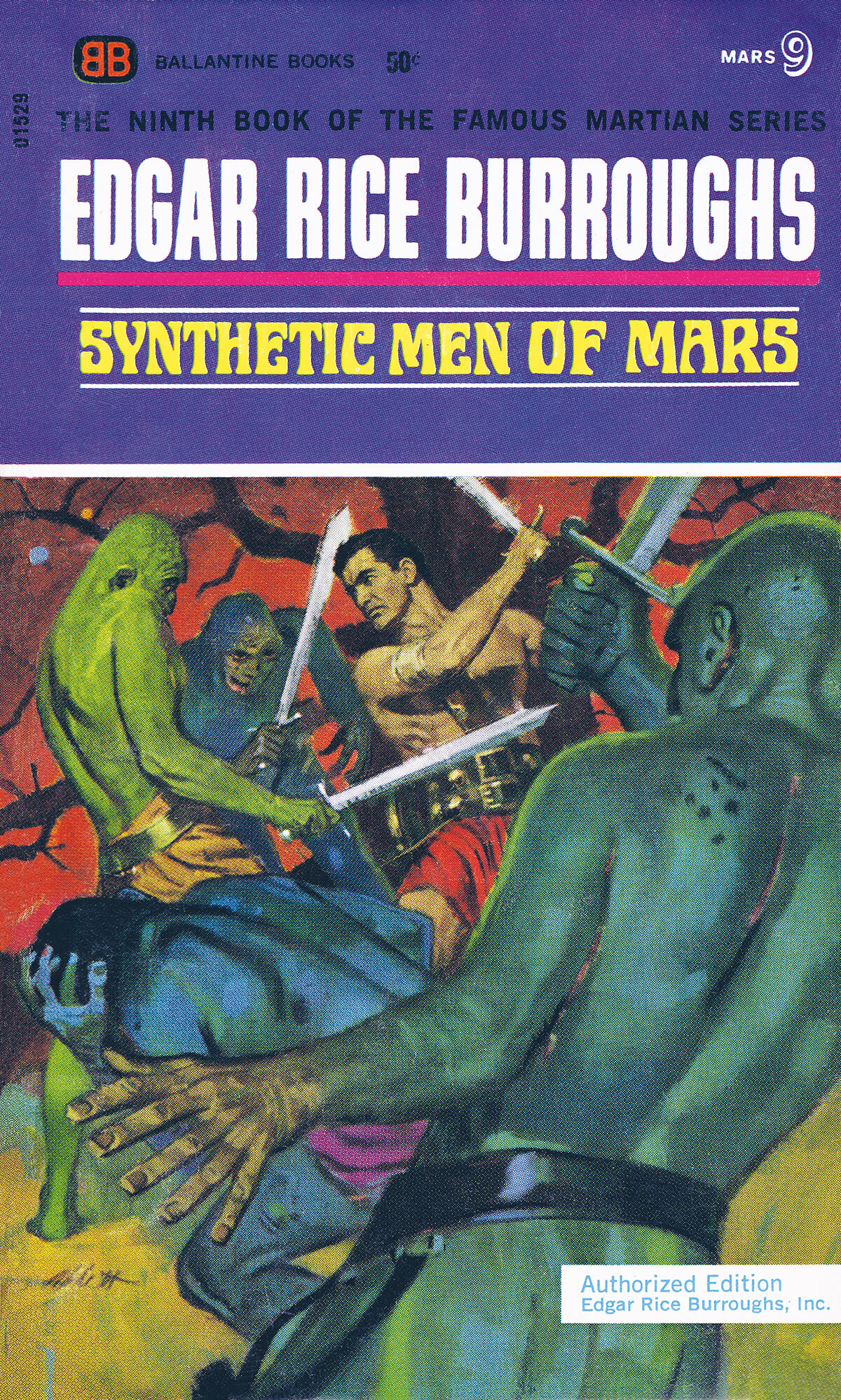 Robert K Abbett Jcom 9 Synthetic Men Of Mars