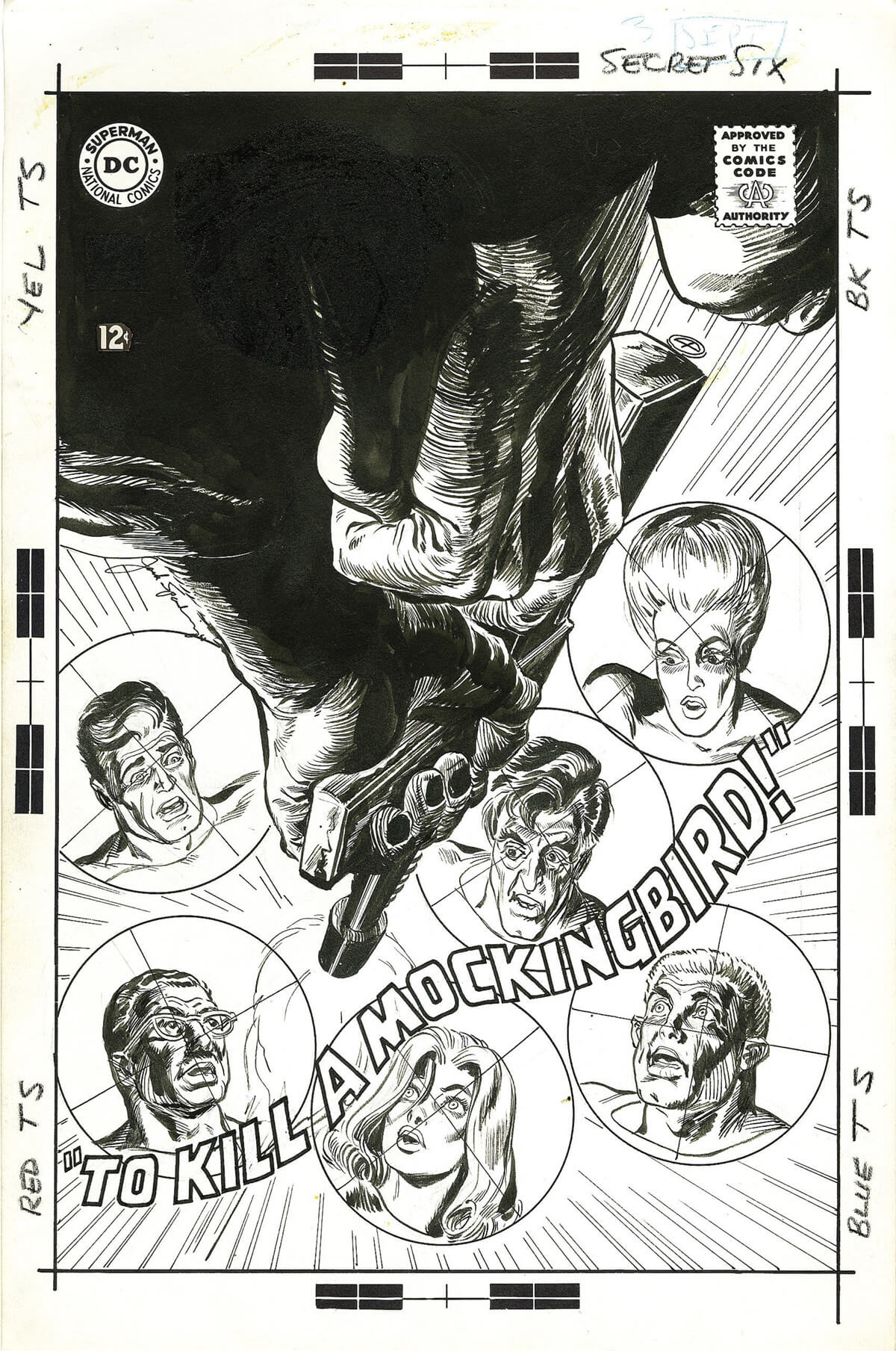 The Secret Six 3 Cover by Jack Sparling