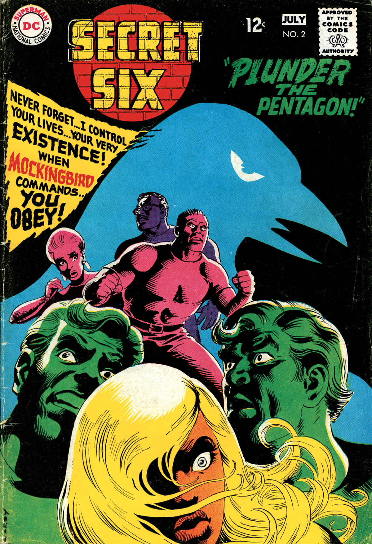 The Secret Six 2 Cover by Nick Cardy