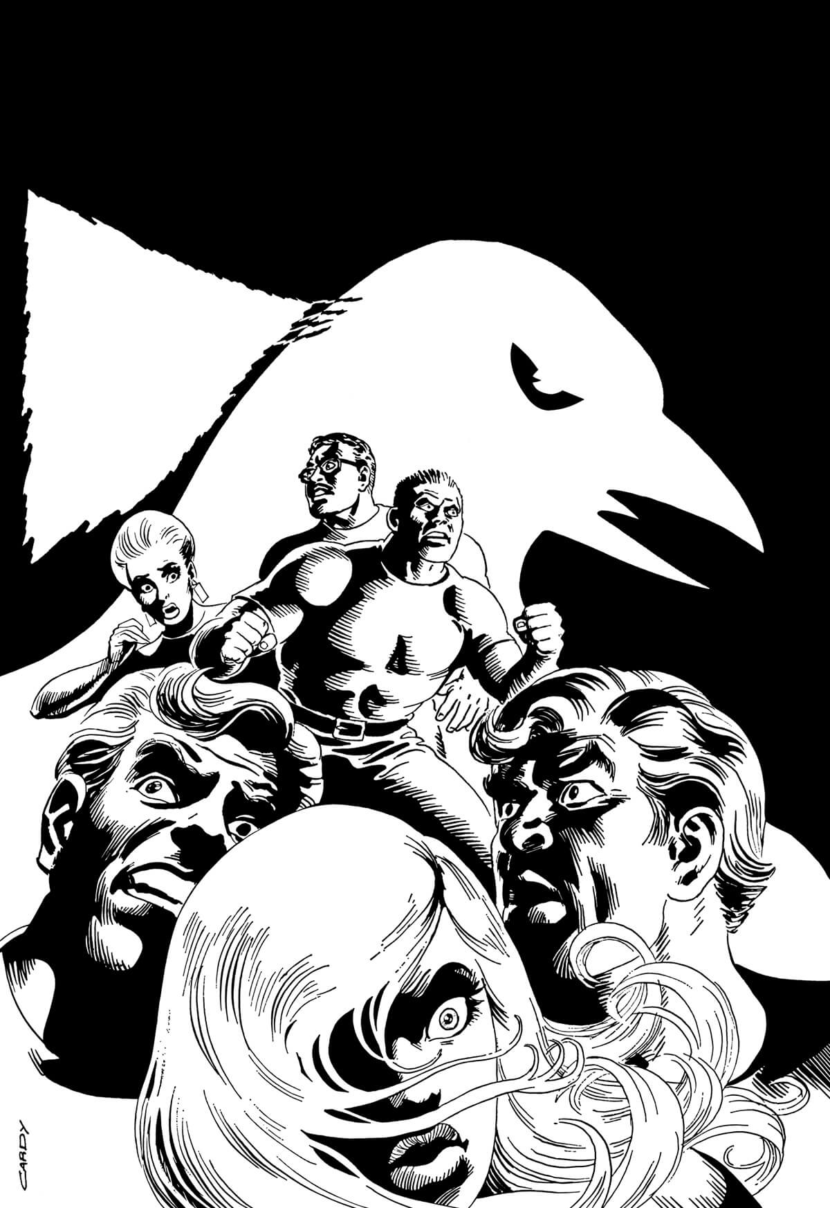 The Secret Six 2 Cover Art Restoration by Scott Dutton