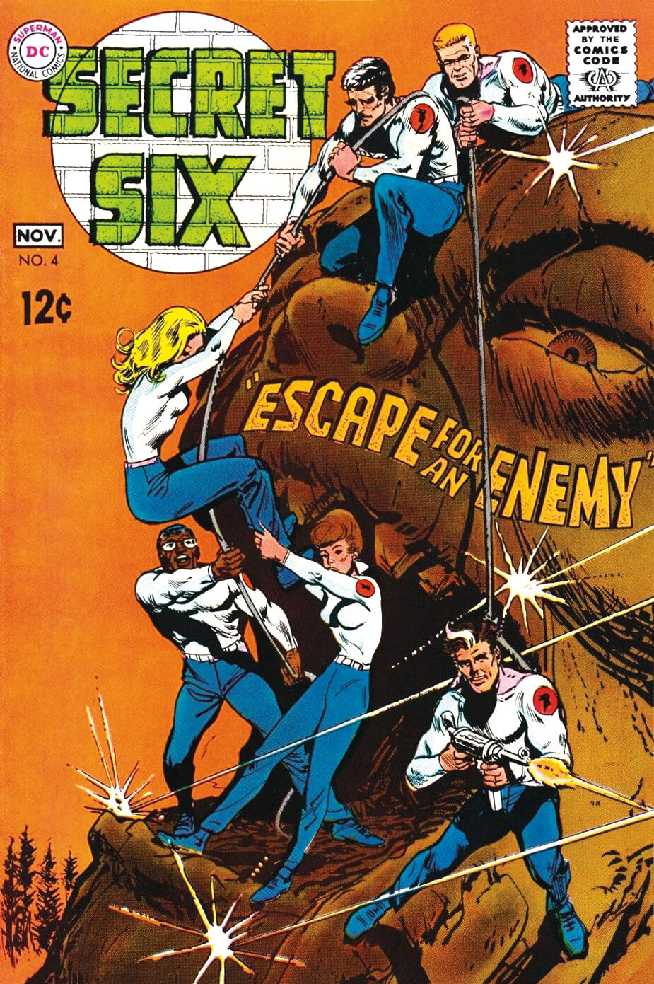 The Secret Six 4 Cover by Jack Sparling