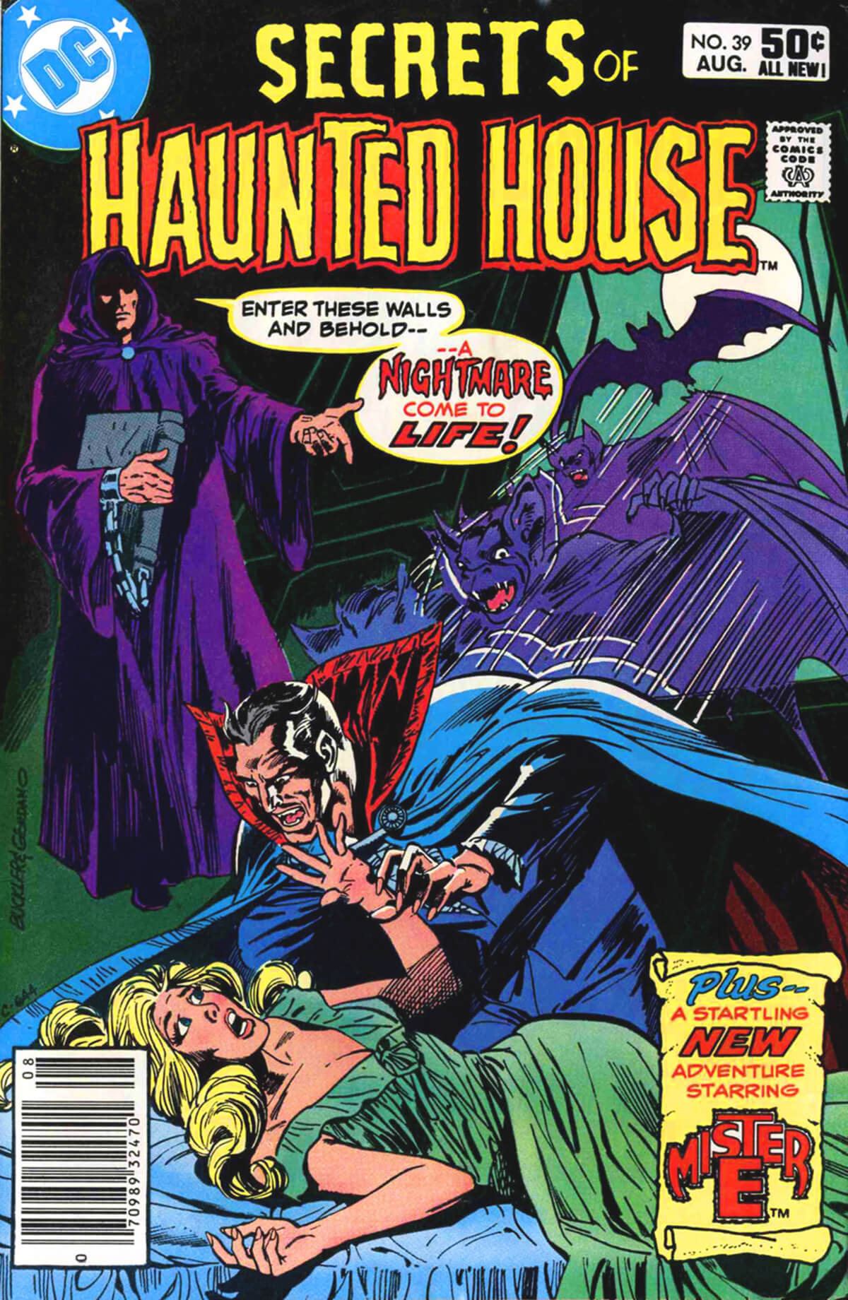 Secrets of Haunted House 39 Cover by Rich Buckler and Dick Giordano