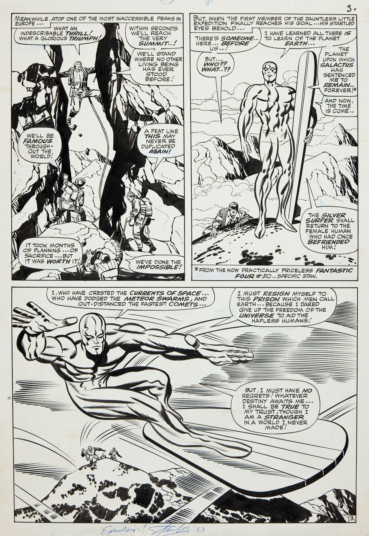 The Silver Surfer by Jack Kirby & Joe Sinnott