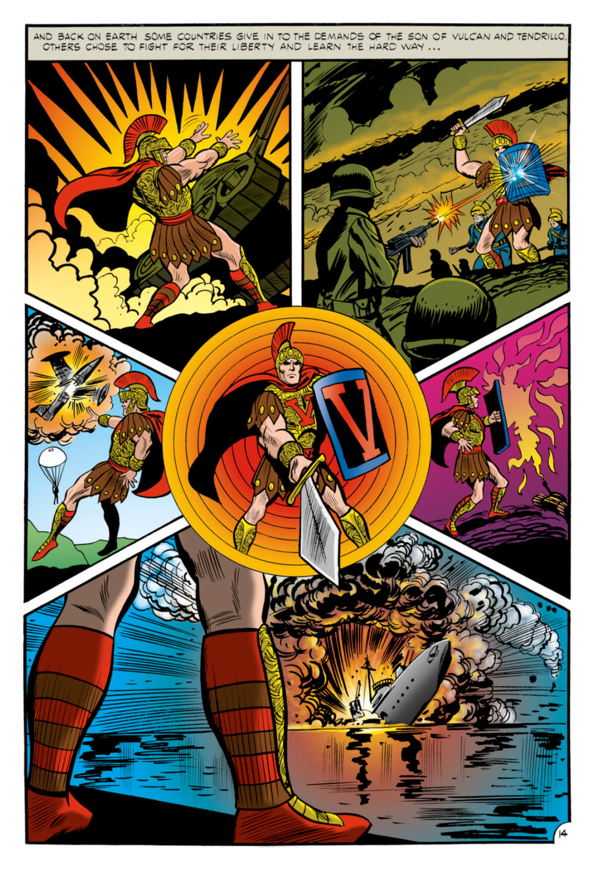 Comic book colouring by Scott Dutton