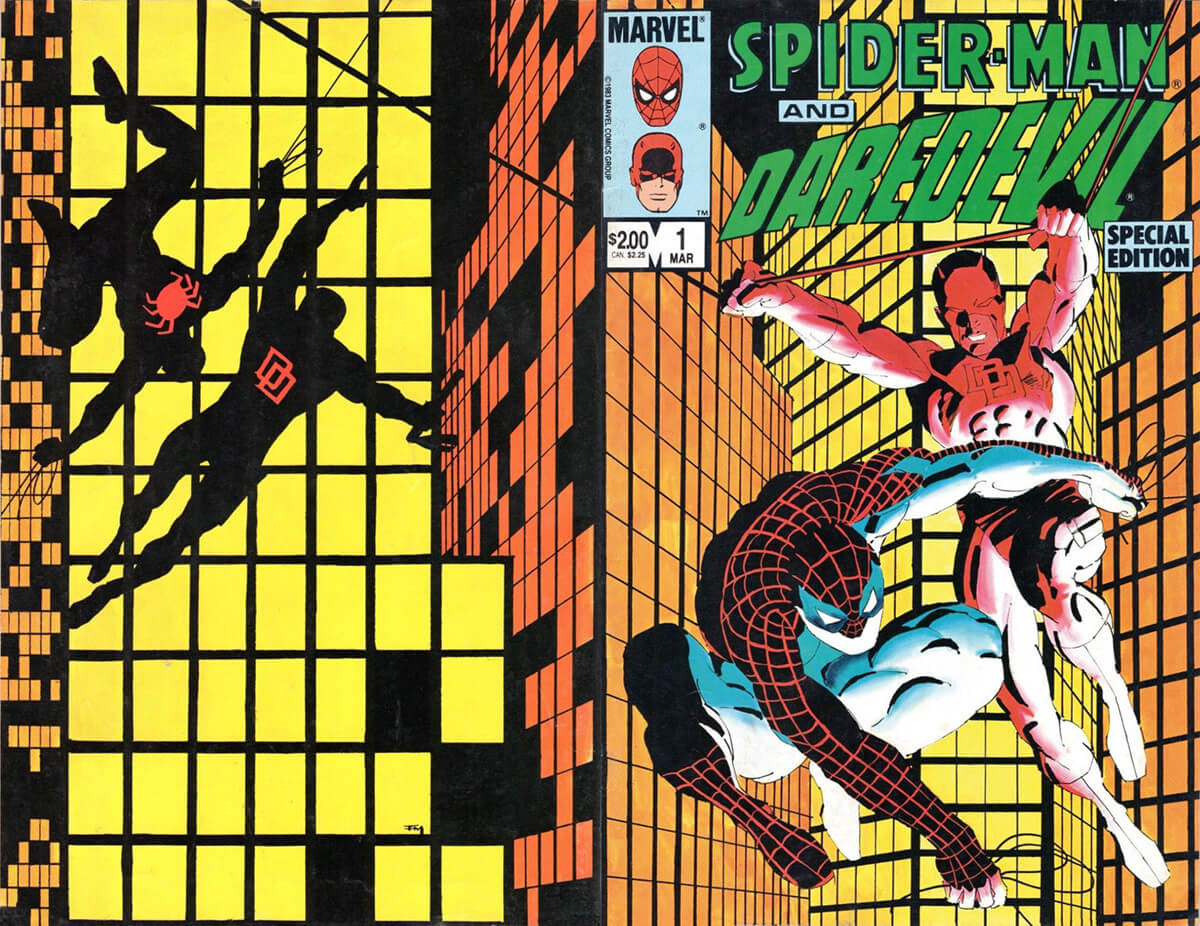 Spider-Man & Daredevil Special Edition No. 1 Cover by Frank Miller