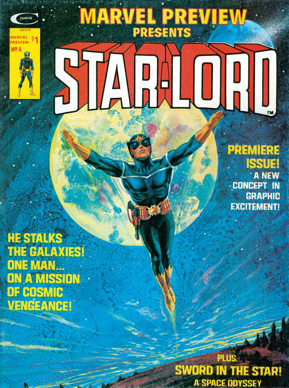 Marvel Preview 4 by Gray Morrow
