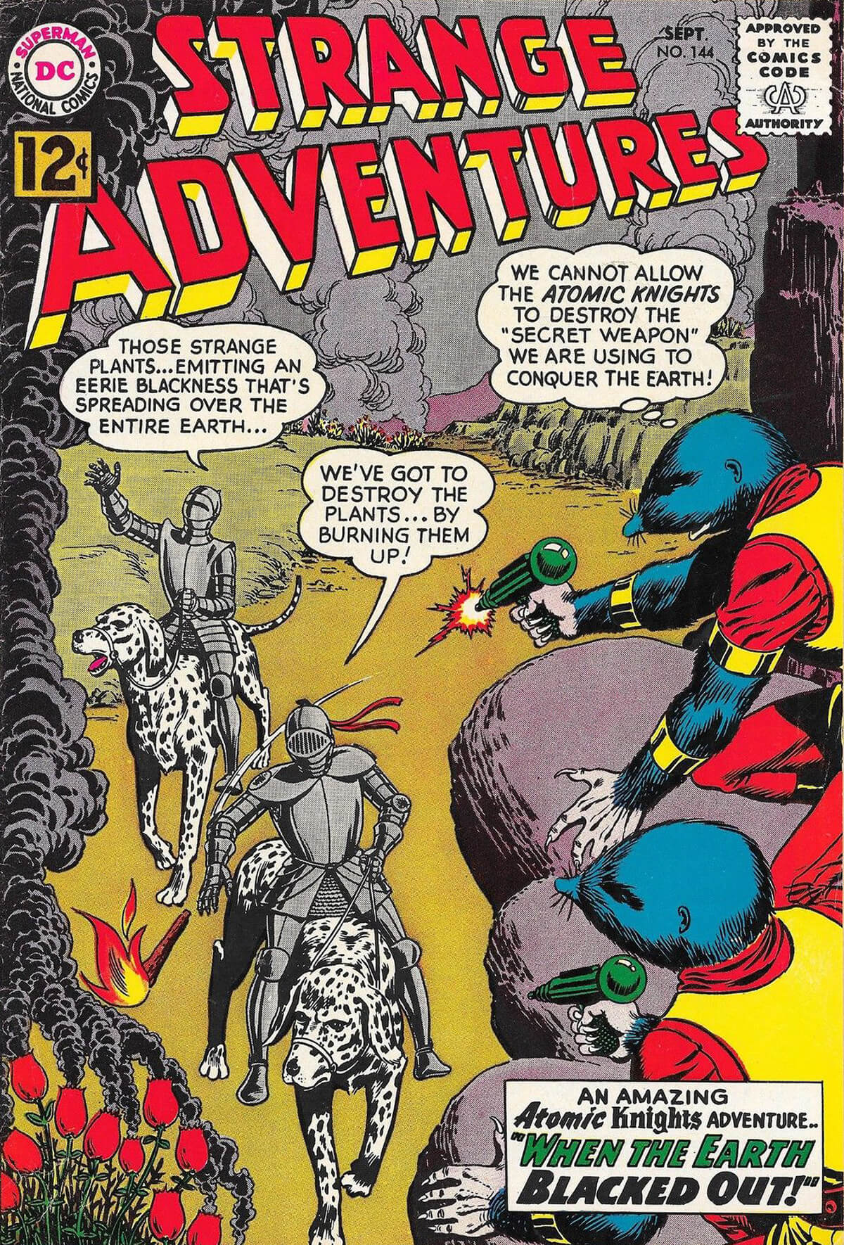 Strange Adventures 144 Cover by Murphy Anderson