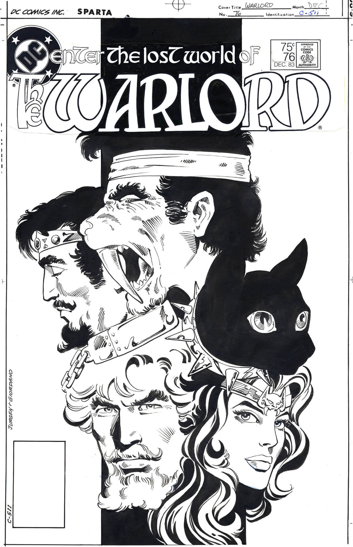 The Warlord 76 Cover by Dan Jurgens & Dick Giordano