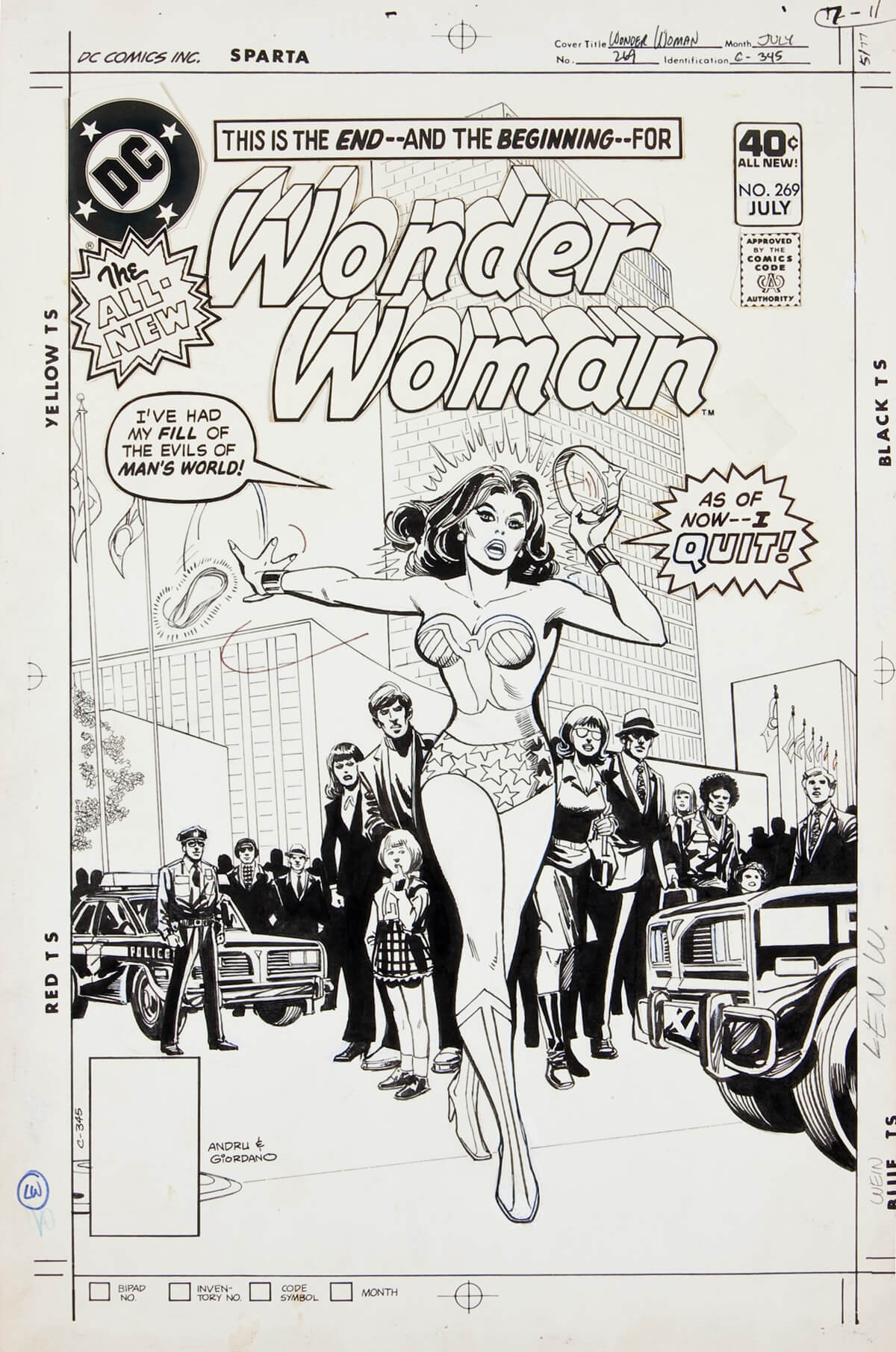 Wonder Woman by Ross Andru and Dick Giordano