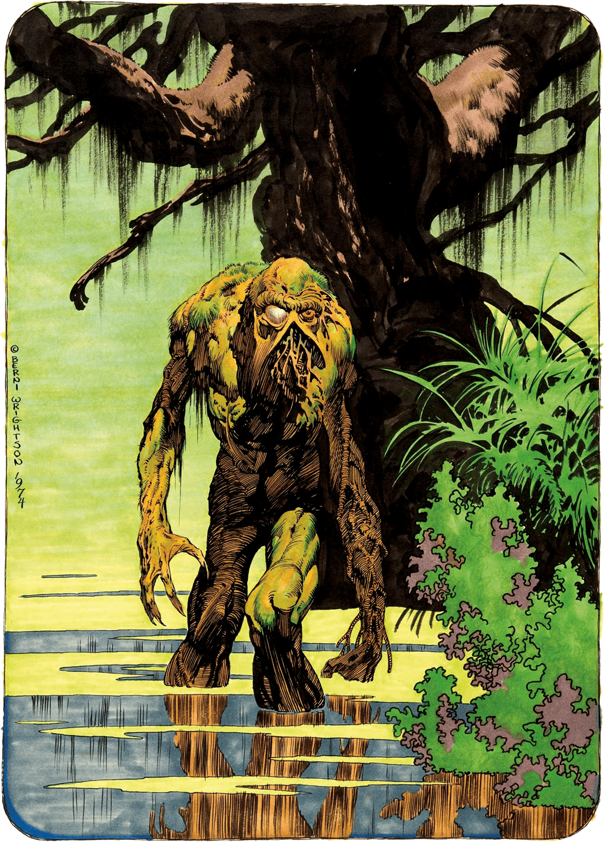 Bernie Wrightson Monsters Colouring Book