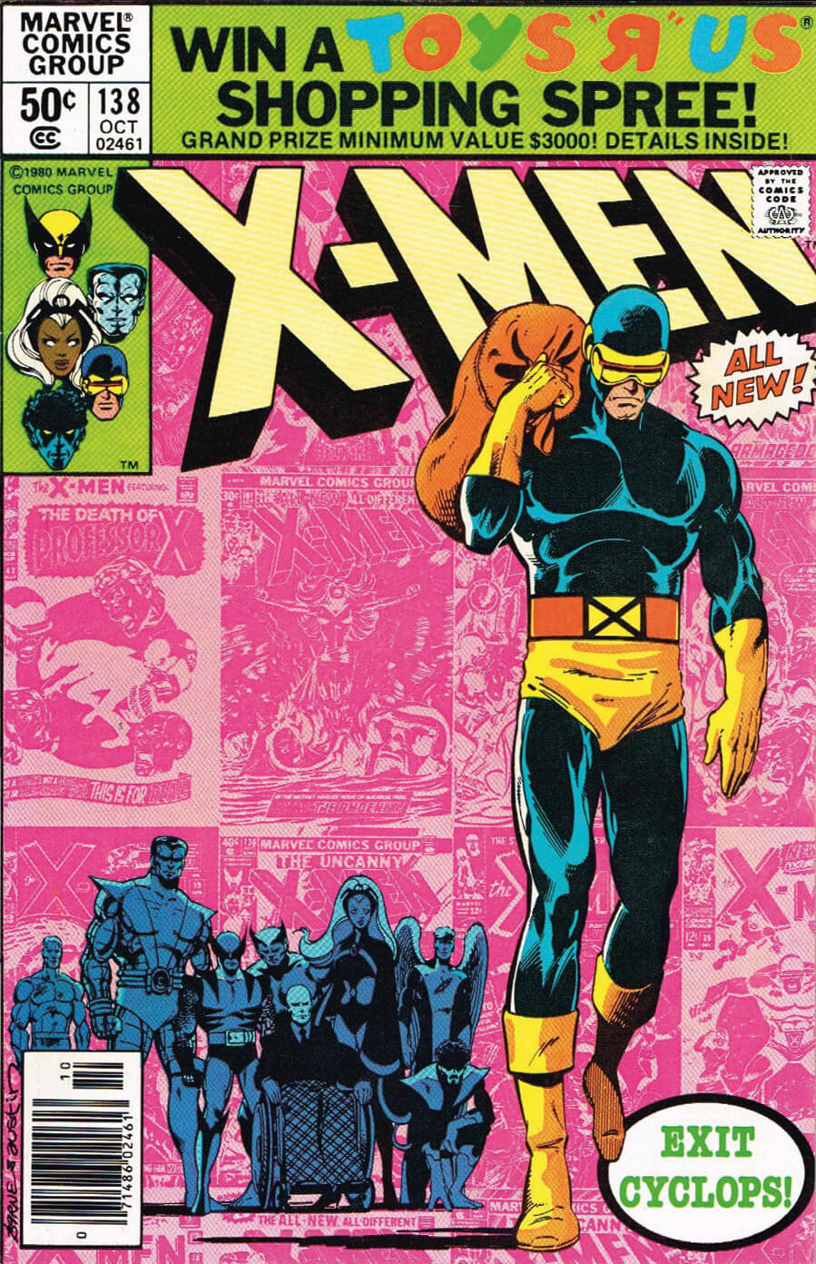 Uncanny X-Men 138 by John Byrne and Terry Austin