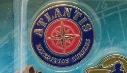 Disney Atlantis Expedition Surplus Pin