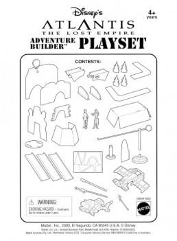 Disney Atlantis Mattel Playset