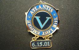 Disney Atlantis Opening Day Pin