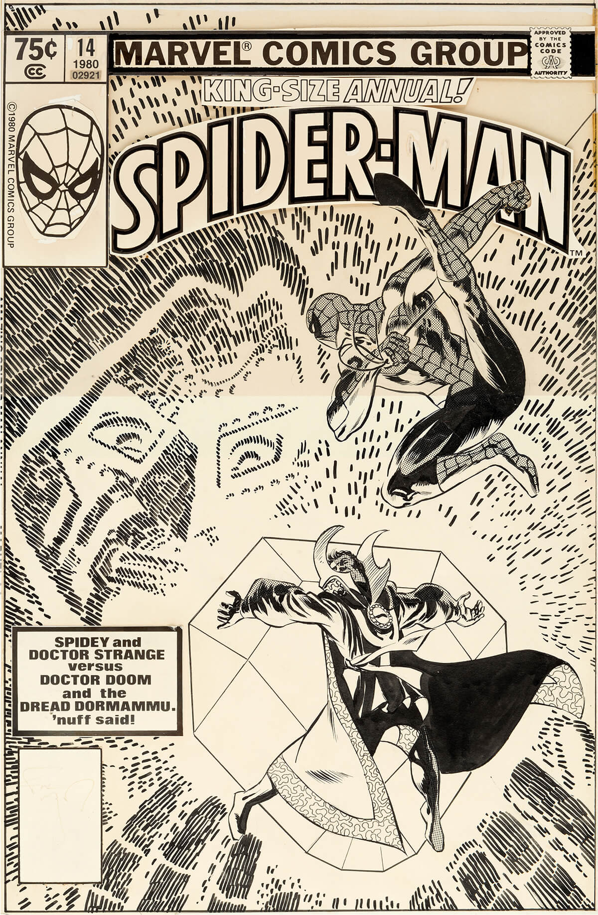 Amazing Spider-Man Annual 14 by Frank Miller