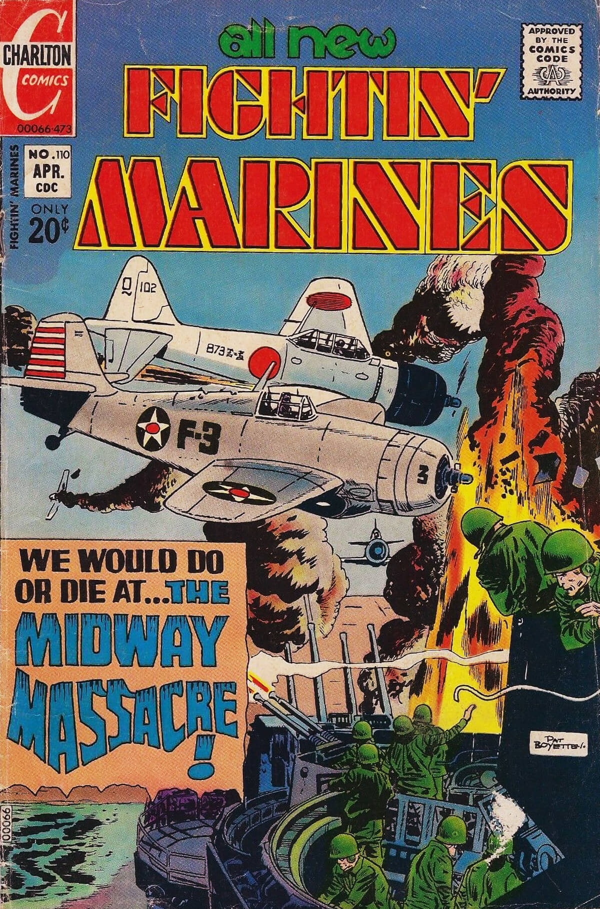 Fightin Marines 110 Charlton Comics