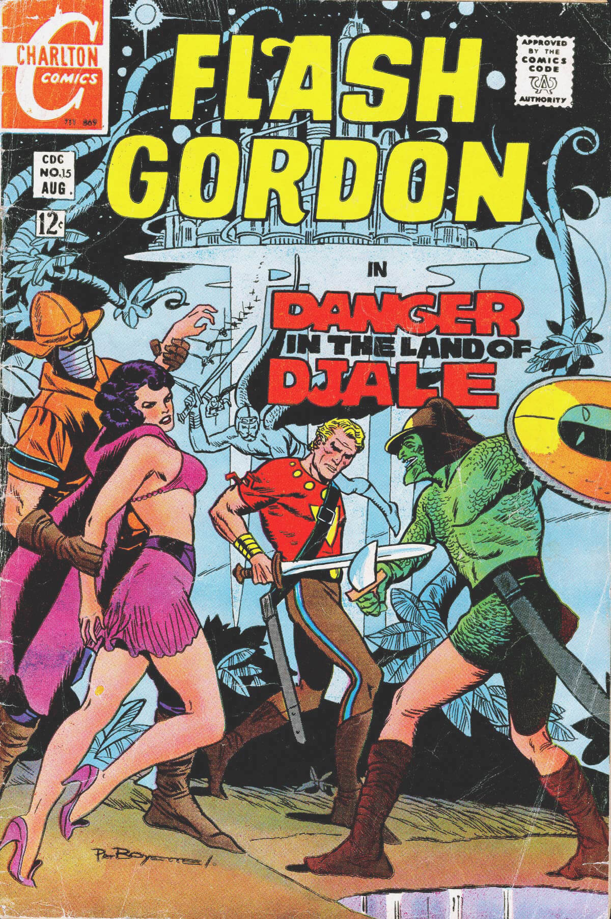 Flash Gordon 15 from Charlton Comics