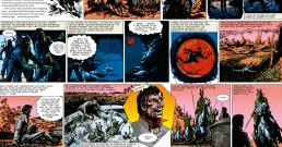 John Carter of Mars Sun Comic Strip OG