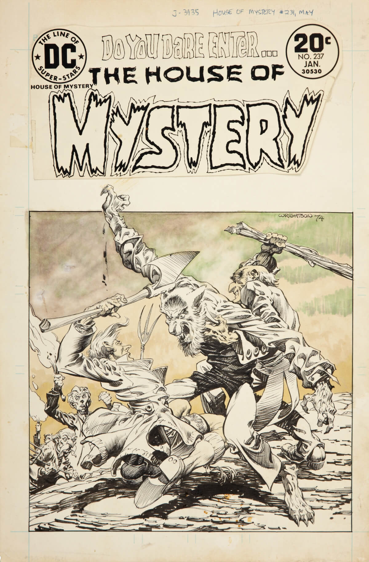 House Of Mystery 231 1