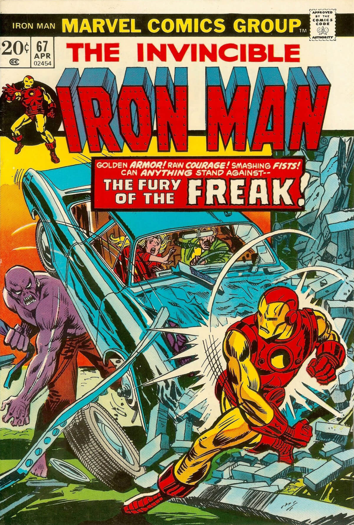 Iron Man 67 Cover