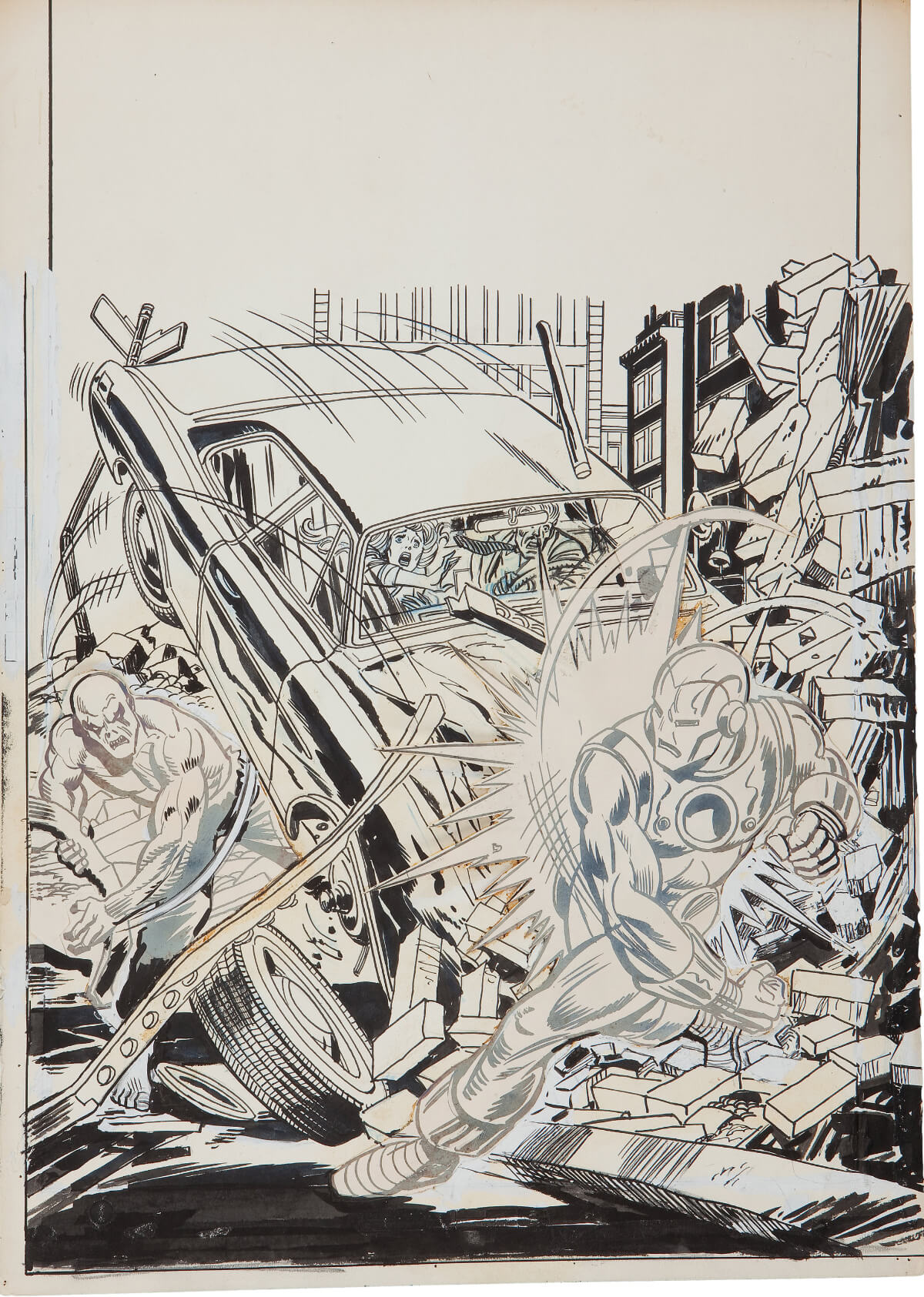 Iron Man 67 art by Gil Kane and Mike Esposito