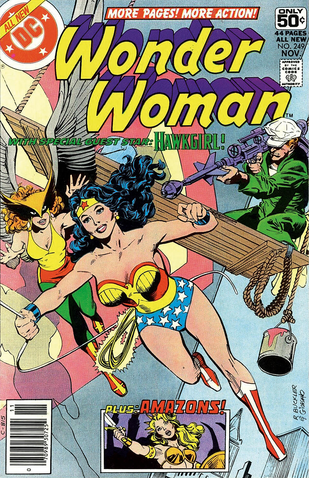 Wonder Woman 249 Comic Book Cover
